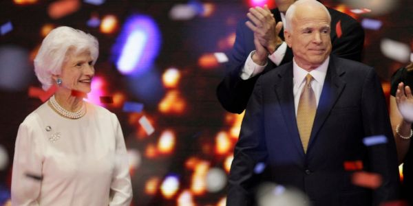 John McCain's 106-year-old mother expected to attend his memorial services