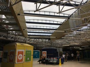 New Roof Starts To Emerge From Behind the Hoardings at Leeds Station