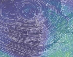 Rain and 80mph Storm Deirdre triggers 'danger-to-life' warning in Scotland