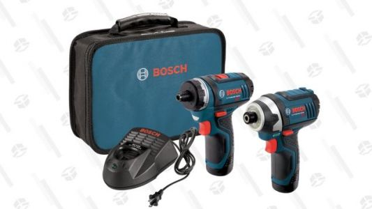 Screw High Prices: This Bosch Drill-Driver Combo Kit is Cheaper Than Ever