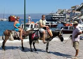 "Greece banned ""overweight"" tourists from riding donkeys"