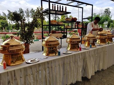 Sheraton Grand Bangalore Hotel at Brigade Gateway, the final word in Outdoor Catering
