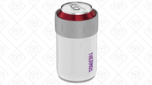 Keep Your Drinks Ice Cold With This $7 Vacuum Insulated Can Insulator