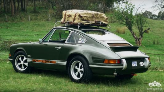 This 1971 Porsche Is the Final Form of Fancypants Automotive Aesthetic