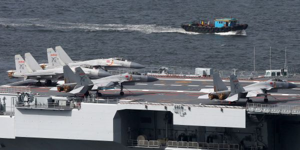 China is recruiting extra cadets to fix its shortage of pilots for aircraft carrier-based fighter jets