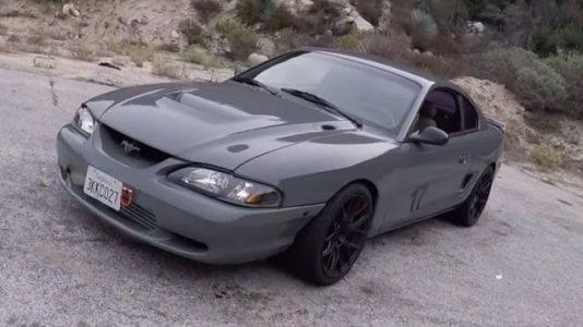 This 2JZ-Powered Ford Mustang Is Just Clean as Hell