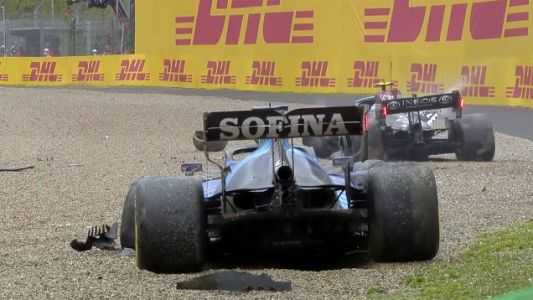 FIA Safety Test Video Shows How Bottas' Mercedes Withstood That Big Crash