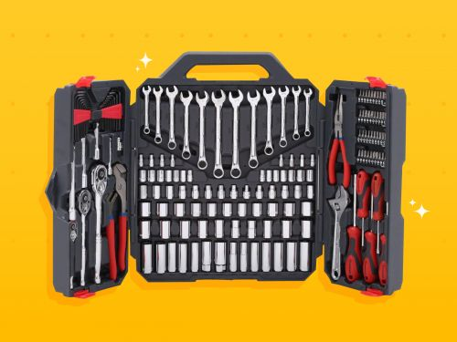 I've been using this tool kit for 2 years, and it's still the first thing I grab when I have any household repairs