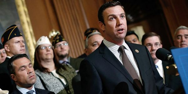 'If traveling was free you'd never see me again': Rep. Duncan Hunter and his wife allegedly played the military card to score freebies using campaign funds