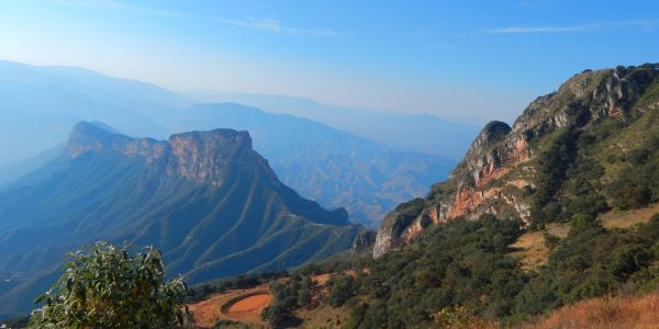 The Deep Green of the Sierra Gorda, Just a Few Hours from the City of Querétaro
