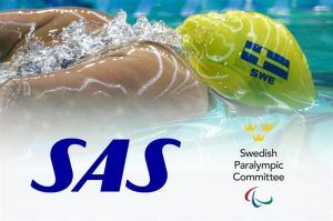 SAS Becomes Main Partner for Sweden's Paralympic Committee Ahead of the Paralympics in Tokyo 2020