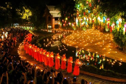 Thailand Virtual Event: Meditate With a Monk + Watch Loy Krathong Festival of Light