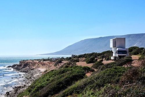 Truck Surf Hotel Takes Guests on a Coastal Road Trip Through