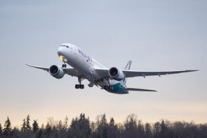 WestJet Dreamliner Launches First Revenue Flight