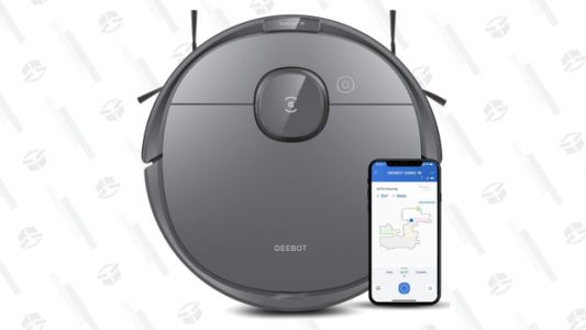 Save $100 on the Mop-Equipped Ecovacs Deebot T8 Robot Vacuum