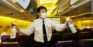 Dirtiest surfaces on airplane - Canadian Broadcasting Corporation study