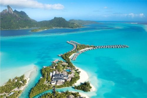 St. Regis Bora Bora Resort - French Polynesia Combining the