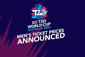 Cricket's T20 World Cup tournament ticket prices released today