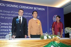 Centara Hotels & Resorts signs MOU with KMA hotels for six Myanmar Hotels