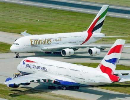 Emirates airline will resume flight service from India to South Africa and Nigeria