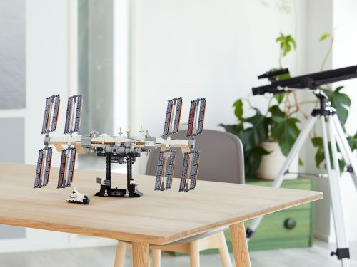 Lego is releasing an International Space Station set. The company sent it into the stratosphere in a brilliant marketing stunt