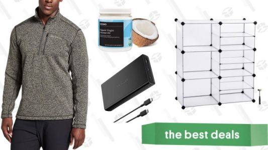 Saturday's Best Deals: J.Crew Factory, Home Storage, Towable Tube, and More