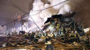 Over 40 people injured in explosion at Sapporo, Japan restaurant