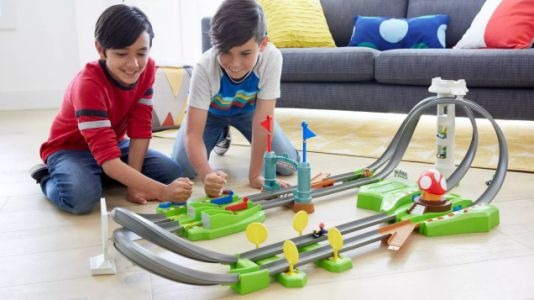 Hot Wheels Wants You to Channel Your Inner Child and Buy This Mario Kart Track