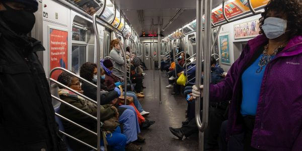 'Unruly person' incidents on the New York City subway are rattling passengers, workers, and cops