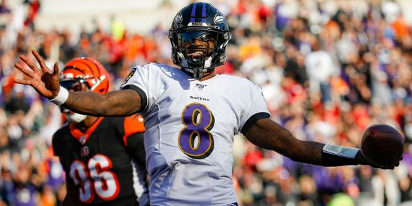 Lamar Jackson staked his claim to the MVP with a brilliant video game-like touchdown run