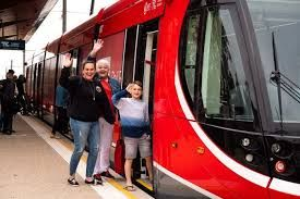 Light rail officially launched in Canberra