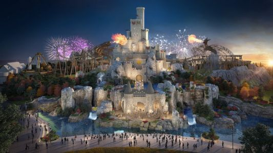 A huge new theme park set to be the UK's answer to Disneyland is costing $4.6 billion to build