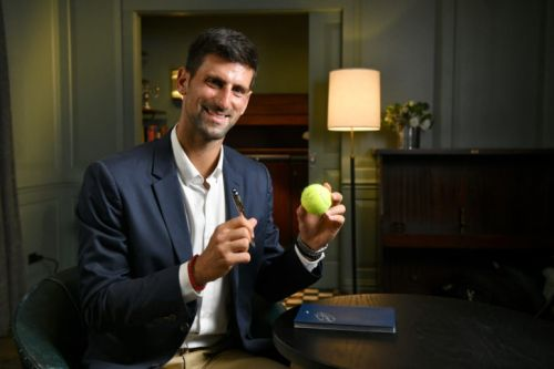 Montblanc Partners with Tennis Champion Novak Djokovic's Foundation