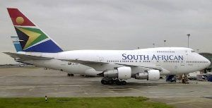 South African Airways Reinstates Flights to Six International and One Regional Destination