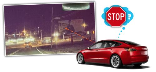 This Billboard That Confuses Tesla Autopilot Is A Good Reminder Of Why Self-Driving Is Still A Long Way Off
