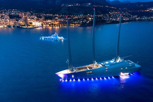 Meet Sailing Yacht A, The Ultimate SailboatWith eight decks