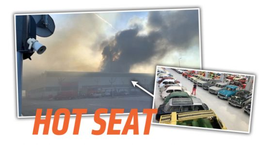 Fire Breaks Out at Seat's Historic Collection of 200 Classic Cars