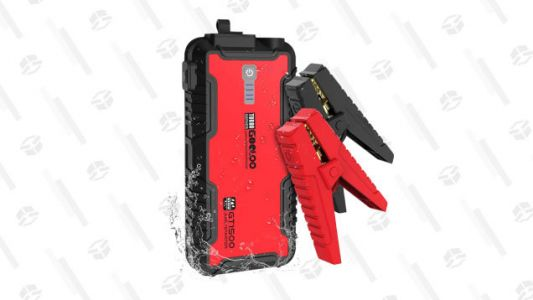 Get Yourself a GOOLOO 1500A Peak SuperSafe Car Jump Starter for Just $45
