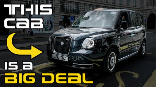 How This London Black Cab Could Change The World.Literally