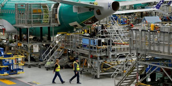 A Boeing whistleblower says he tried to raise concerns about sloppy 737 Max production, but was ignored by the CEO, board, FAA, and NTSB