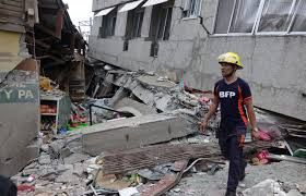 6.8-magnitude earthquake in southern Philippines , 3 killed