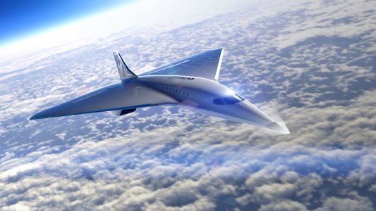 Virgin Galactic just revealed a new supersonic passenger jet it plans to build with Rolls Royce, which used to make Concorde jet engines