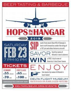 Hops in the Hangar tickets at Delta Flight Museum on sale Friday