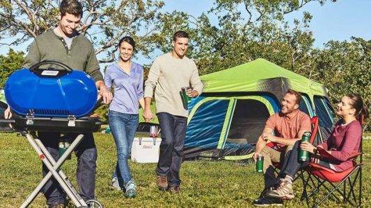 Get a 10-Person Coleman Cabin Tent for the Lowest Price Ever Today
