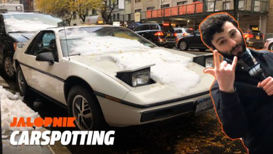 This Pontiac Fiero Is a Real New York City Car