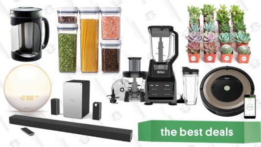 Thursday's Best Deals: Ninja Blender, Two Nike Sales, Olivers Mystery Box, Roomba, and More