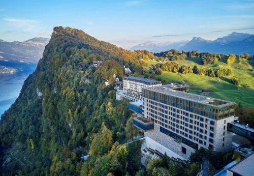 Head above the Clouds at Bürgenstock Resort