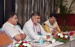 Meeting held under the chairmanship of Union Minister of State for Culture and Tourism in Bhopal