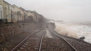 £80m sea wall planned by government in Dawlish to protect railway
