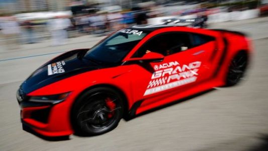 Acura Sets a Production Car Lap Record On the Long Beach Circuit